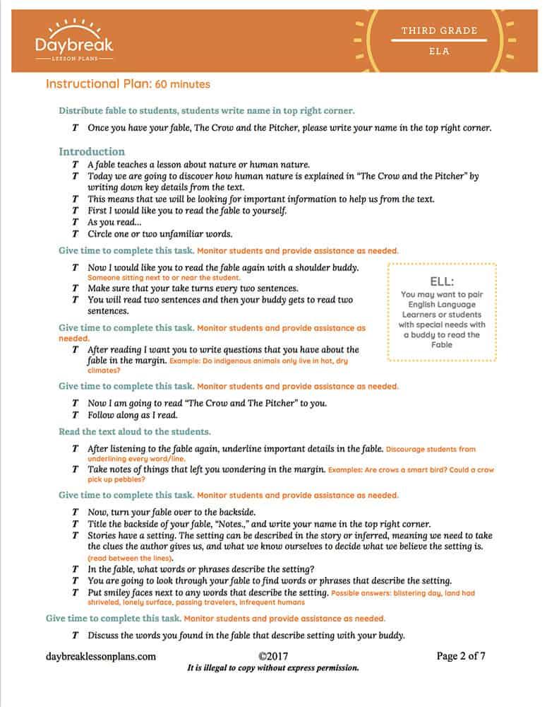3_ELA_L_FABLE_CrowAndThePitcher_Seg1_Lesson_Image