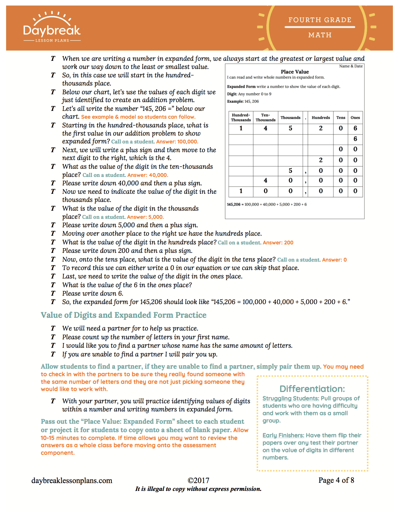 writing numbers in expanded form examples